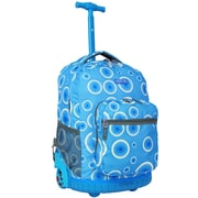 J World Sunrise Rolling Backpack; Blue