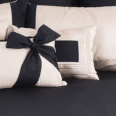 Charister Tux Boudoir/Breakfast Pillow; Taupe