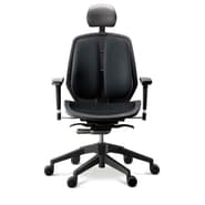 Duorest Alpha Executive Mesh Seat Office Chair; Black