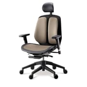 Duorest Alpha Executive Mesh Seat Office Chair; Brown