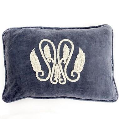 Debage Inc. Global Throw Pillow; Blue