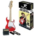 The Drum Works Youth Electric Double Cutaway Guitar Pack
