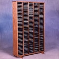 Wood Shed 400 Series 400 CD Multimedia Storage Rack; Clear
