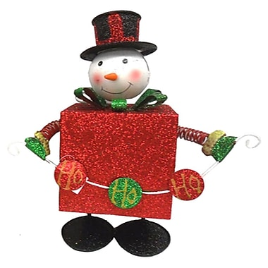 Drainage Industries Bouncing Snowman w/ Present Body
