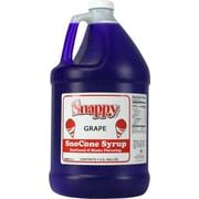 Snappy Popcorn Snow Cone Syrup; Grape