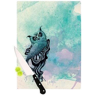 KESS InHouse Owl II Cutting Board; 11.5'' H x 8.25'' W x 0.25'' D