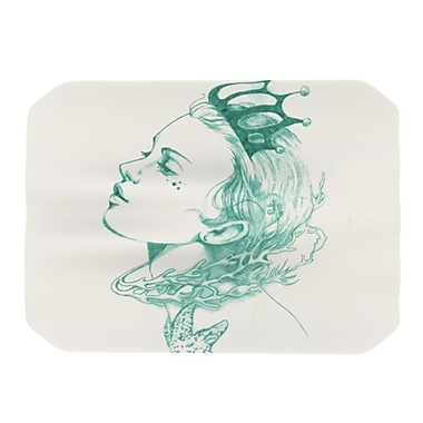 KESS InHouse Queen of the Sea Placemat; Green