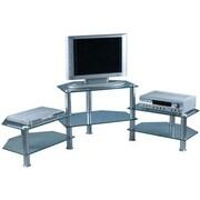 Bentley 19'' Shelf Glass TV Stand