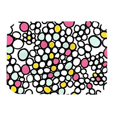 KESS InHouse Pebbles Placemat; Pink