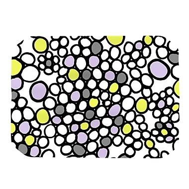KESS InHouse Pebbles Placemat; Lilac