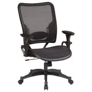 Office Star SPACE Deluxe Air Grid Mid-Back Managerial Chair with Arms