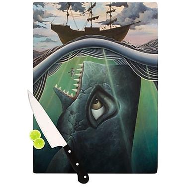 KESS InHouse Jonah Cutting Board; 11.5'' H x 8.25'' W x 0.25'' D