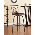 Wildon Home   Savannah 24'' Adjustable Swivel Bar Stool with Cushion
