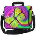 Designer Sleeves Executive Sleeves 60's Butterfly PC Laptop Bag; 17''