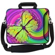 Designer Sleeves Executive Sleeves 60's Butterfly PC Laptop Bag; 15''
