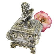 Design Toscano Cherub Musician Sculptural Box