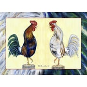 Betsy Drake Interiors Rooster Placemat (Set of 4)