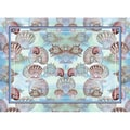 Betsy Drake Interiors Shells Placemat (Set of 4)