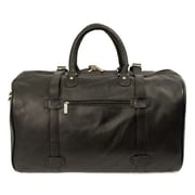 Dr. Koffer Fine Leather Accessories Byron 21'' Leather Carry-On Duffel