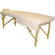 Sivan Flannel Massage Table Cover and Face Cover Set