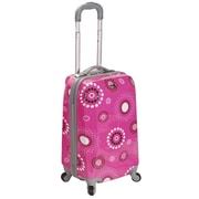 Rockland 20'' Carry-On Spinner; Pink Pearl