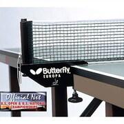 Butterfly BTY Europa Table Tennis Net Set