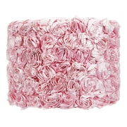 Jubilee Collection 12'' Drum Lamp Shade; Pink