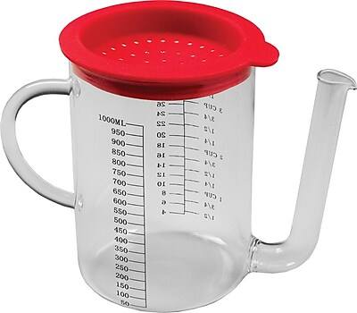 Fox Run Craftsmen Gravy Fat Separator 1-Cup Glass Measuring Cup WYF078275489918