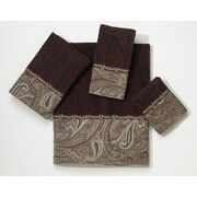 Avanti Linens Bradford 4 Piece Towel Set; Java