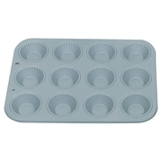 Fox Run Craftsmen Non-Stick 12 Cup Ribbed Tart Pan