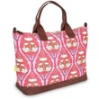 Amy Butler Marni Cotton Gym Duffel; Passion Lily Tangerine