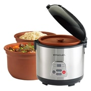 Vitaclay Slow Rice Cooker; 6 cups