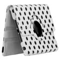 Bargain Tablet Parts Ipad Mini Polka Dot Rotating Case; White