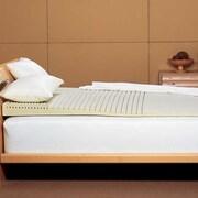 Simmons Beautyrest Geo Incline 5.5'' Foam Mattress Topper; Queen