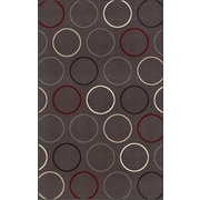 Dalyn Rug Co. 4-Ever Young Circle Grey Kids Rug; 6'7'' x 9'2''