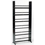 Transdeco Deco Multimedia Storage Rack; Black