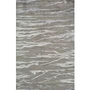 Momeni Zen Gray Area Rug; 3'6'' x 5'6''