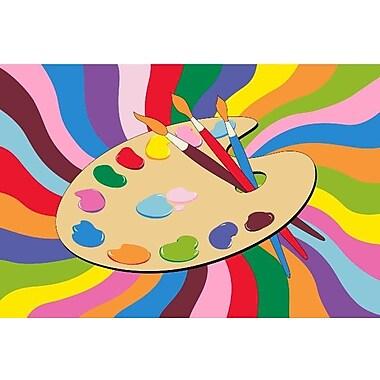 Fun Rugs Fun Time Painting Time Area Rug; 4'3'' x 6'6''