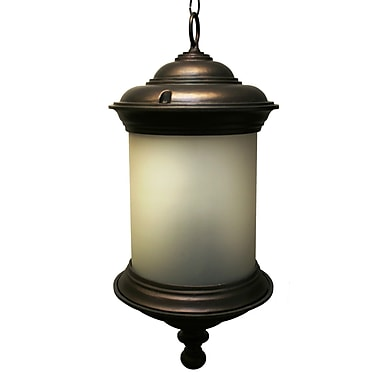 Melissa Tuscany 4 Light Outdoor Pendant; Old Copper