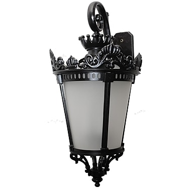 Melissa Tuscany 3 Light Outdoor Wall Lantern; Old Bronze