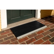 Mats Inc. The Ultimate 18'' x 31'' Outdoor Bristle Mat in Black