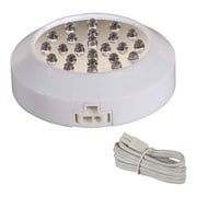 Maxim Lighting CounterMax MX-LD LED Under Cabinet Puck Light; White