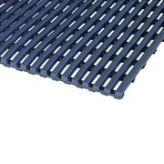 Mats Inc. World's Best Barefoot Mat 2' x 10' Safety and Comfort Mat in Oxford Blue