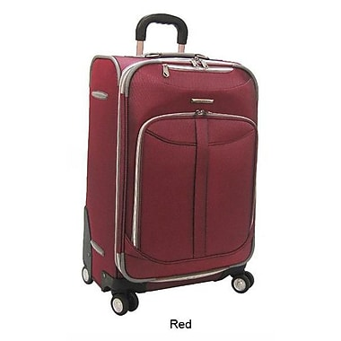 Olympia Tuscany 30'' Expandable Super Rolling Case; Red