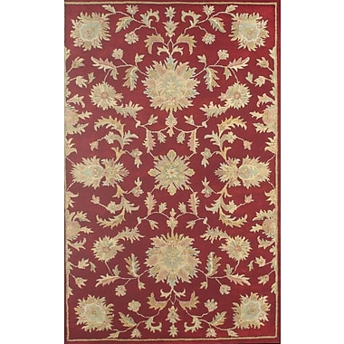 Meva Rugs Joyce Red Agra Area Rug; Square 1'6''