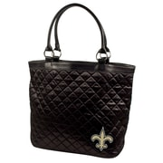 Little Earth NFL Quilted Tote Bag; New Orleans Saints