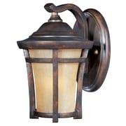 Maxim Lighting Balboa VX EE 1-Light Outdoor Wall Mount; 11.5'' H x 7.5'' W x 9.5'' D