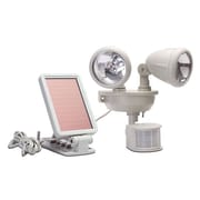 Maxsa Solar Powered Dual Head LED Security Spot Light