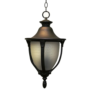 Melissa Tuscany 4 Light Outdoor Hanging Lantern; Old Iron