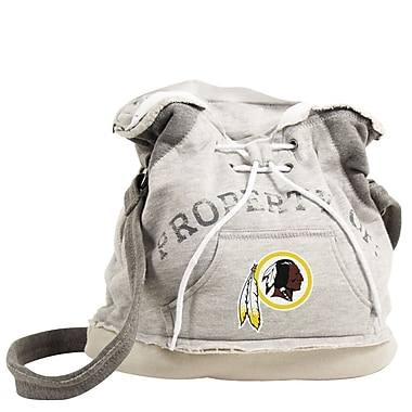 Little Earth NFL 16'' Hoodie Travel Duffel; Washington Redskins